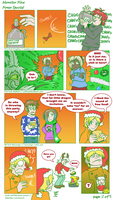 Monster Hive Holiday Comic page 2 by raizy