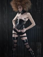 'Lethe' Corset, Collar by AntisepticFashion