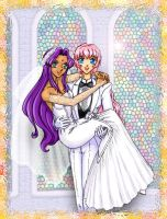 Utena - Wedding by astra3000