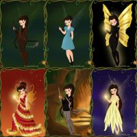 Katniss as a Fairy by LadyAquanine73551