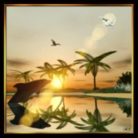 Dolphin Sanctuary by BrokenWings3D