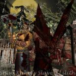 Shao Kahn Pyramid Head Team Up by ShaoKahnsSlaveLilith