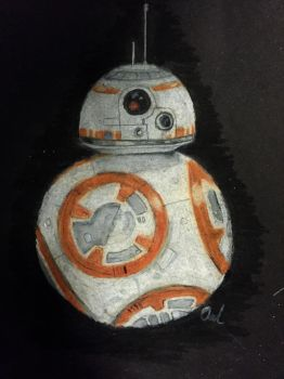 BB-8 by A-Parliament-Of-Owls