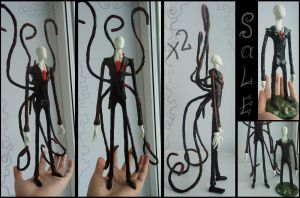 Slenderman x2-  for sale by MaryDec