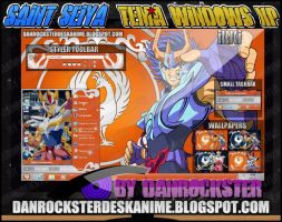 Phoenix Ikki Theme Windows XP by Danrockster