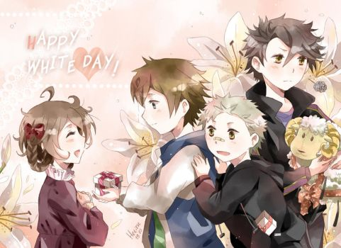 .Happy White day. by Hetiru