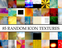 85 random icon textures by Kiho-chan