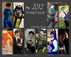 2012 Cosplays by Admantius