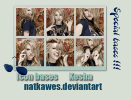 Icon bases - Kesha 2 by Natkawes
