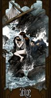 Selkie: The Lovers by TravJames