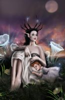 Spidermother by roserika