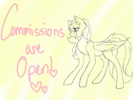 Commissions Are Open! by ScarlettNovel