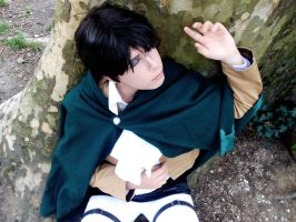 SNK: Helpless Heichou by Smexy-Boy