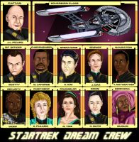 My Star Trek Dream Crew by jadzii