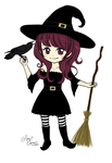 Witchgirl by Pink-world