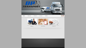 BP Transport webdesign by atty12