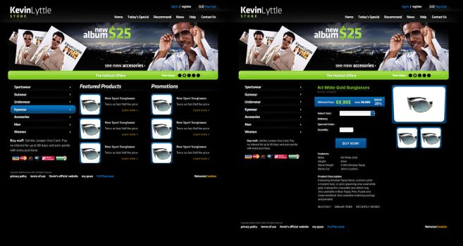Kevin Lyttle Outlet by electronicweb