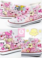 Sweet Friends Shoes by Bobsmade