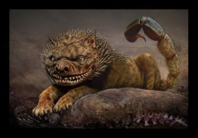 MANTICORE (Manticora Anthrophagus Horribilius) by Caberwood