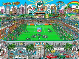 Miami dolphins by boeingboeing2