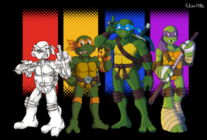 Teenage Mutant Ninja Turtles by Elias1986