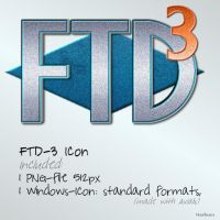 FTD-3 Icon by Mardiba