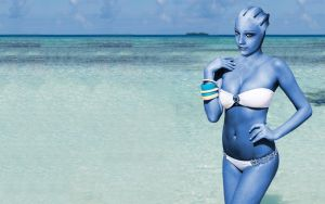 Liara T'Soni : Not much time left by RenderEffect-Dan