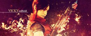 Claire Redfield sign 2 by VickyxRedfield
