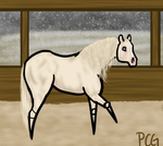 Tater- pawing-animation by painted-cowgirl