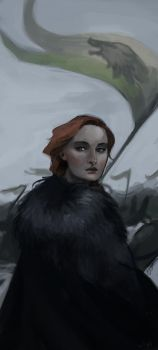 Sansa Stark by LykasWilliam