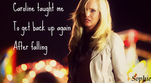 Caroline Forbes Signature by SophieTheVampire