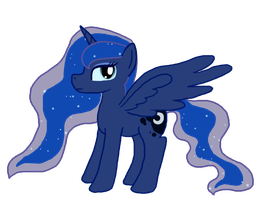 Luna is not amused by InkBlu