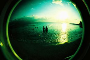 fisheye camarines - late swim by jcgepte