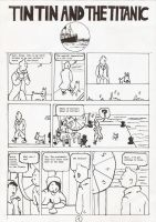 Tintin and the Titanic_01 by Ad1er