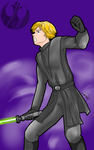 Luke The Jedi by lapaowan