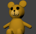 3D Teddy Bear by Hefaistus