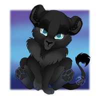 Chibi Commission for TheRealBlackLion by Nojjesz