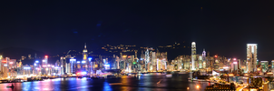 Hong Kong Panorama by supakilla9