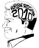 Brian Regan 2010 Tour Logo by awesomesaucexp