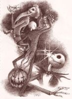 The Pumpkin King by sketchpad232