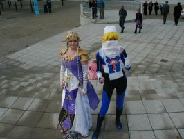 Zelda and Sheik Cosplays by RiCeBaLL-ROsiE