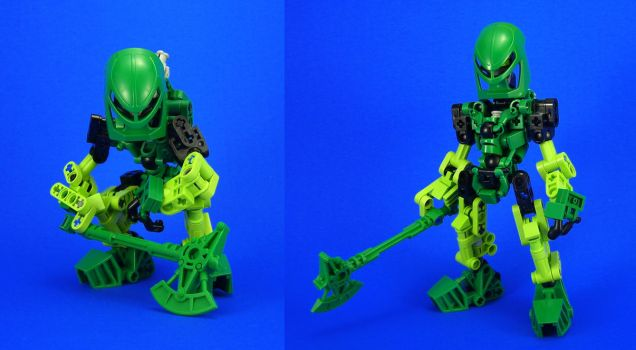 Bionicle - Lewa Re-Revamp by Lalam24