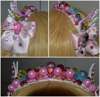 Pastel Pearl Hairband by CandySkitty