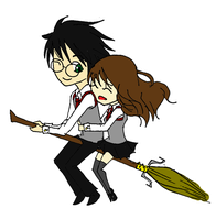 HarryHermione by CherryBlossoms24