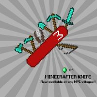 Minecrafter Knife! by Thothhotep