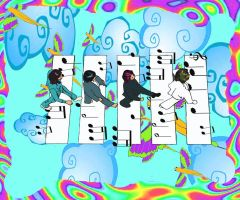 The Beatles by bartelnathaniel