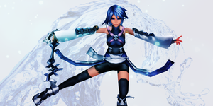 Fighting for the Light - Aqua by Kingdom-Hearts-Realm