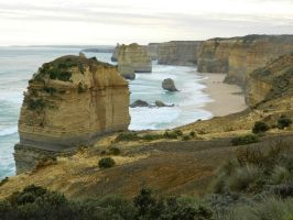 Great Ocean Road 003 - HB593200 by hb593200