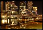 Melbourne Yarra Night HDR by DanielleMiner