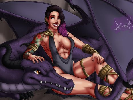 Ibi Smiles - Dragon Goddess by J-ZeroSK